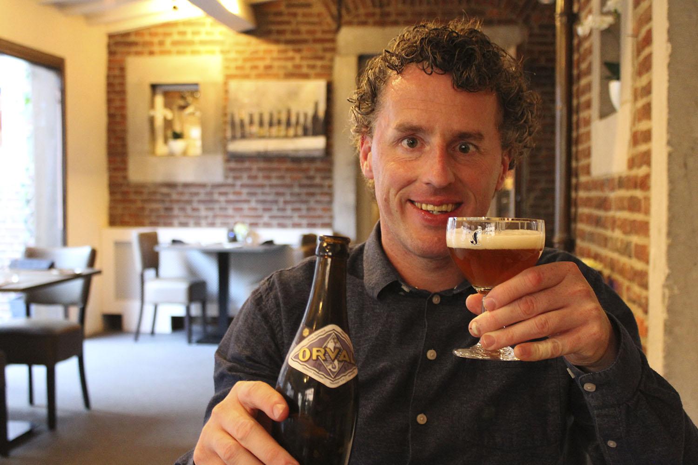 Bier Broeders De Gebrande Winning proeven van speciaalbier 4