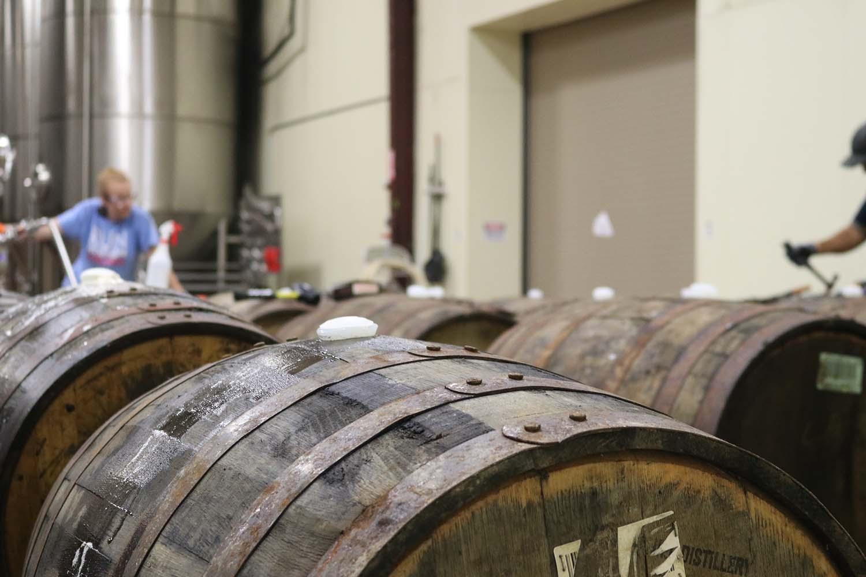Bier Broeders bier lageren op whisky vaten