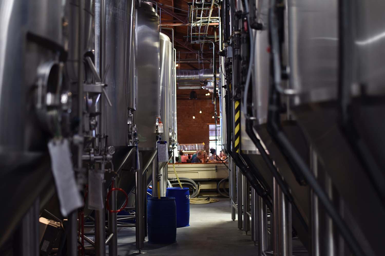 Bier Broeders vergistingstank bierbrouwerij