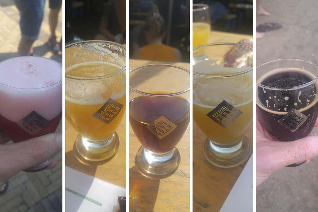 Bier Broeders op van Moll Fest 2019 Bieren