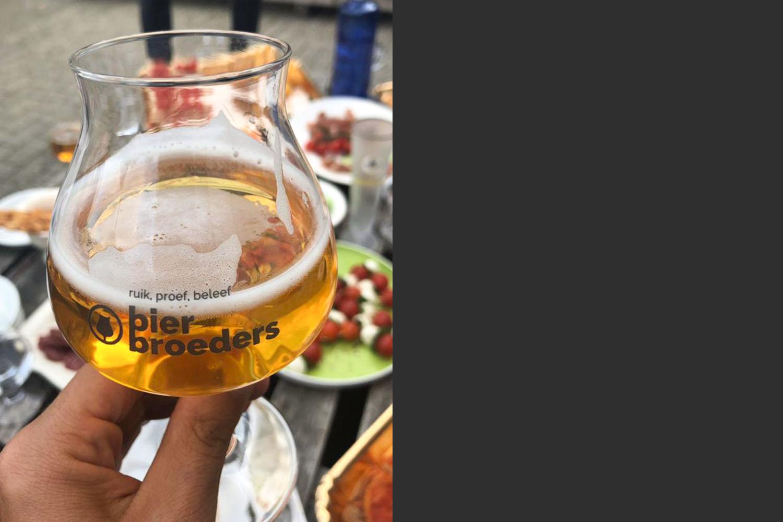 Ander glas Bier Broeders over Martijn Broeders